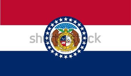 Missouri State Flag Stock photo © Bigalbaloo