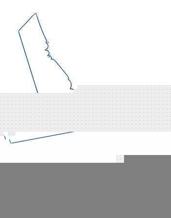 Blu isolato megafono bianco disegno toro Foto d'archivio © Bigalbaloo