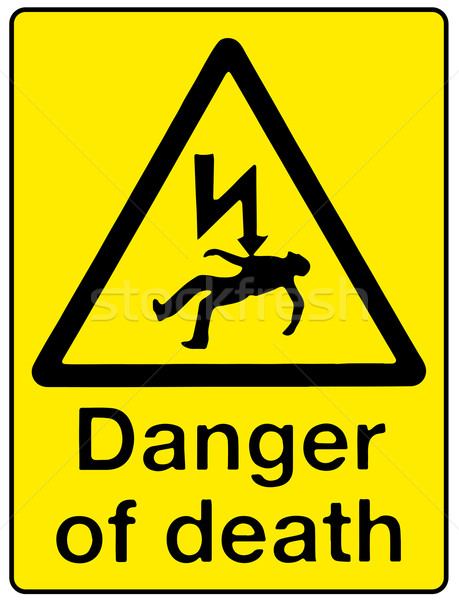 Stock photo: Danger of Death
