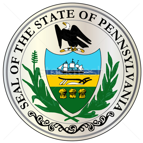 Great Seal of Pennsylvania Stock photo © Bigalbaloo