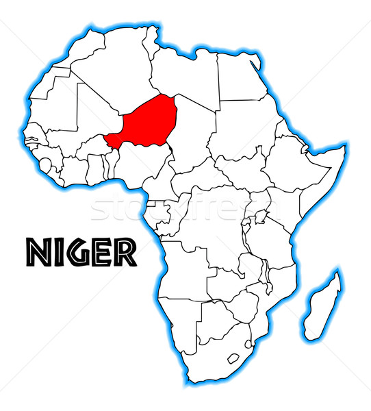 Niger Stock photo © Bigalbaloo