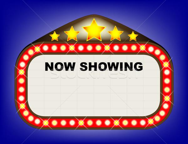 Movie theatre sign images