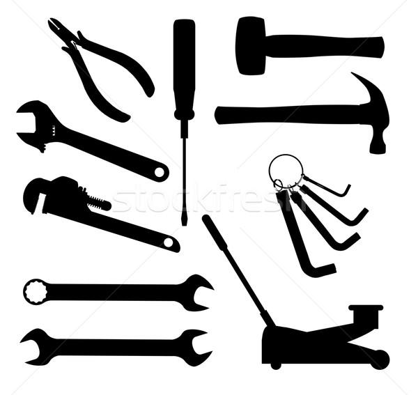 Motor Mechanics Tools Stock photo © Bigalbaloo