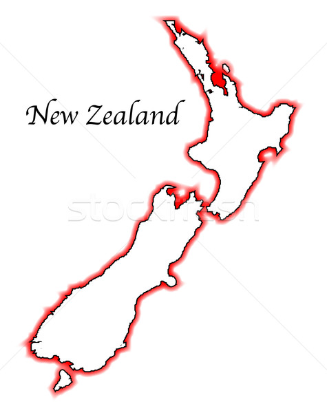 New Zealand Stock photo © Bigalbaloo