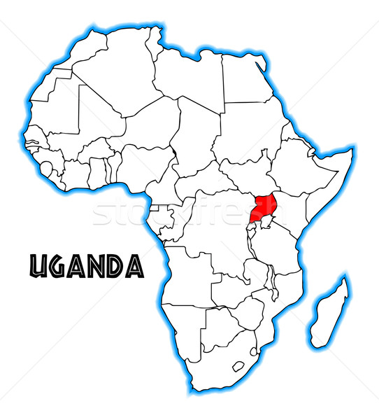 Uganda Stock photo © Bigalbaloo