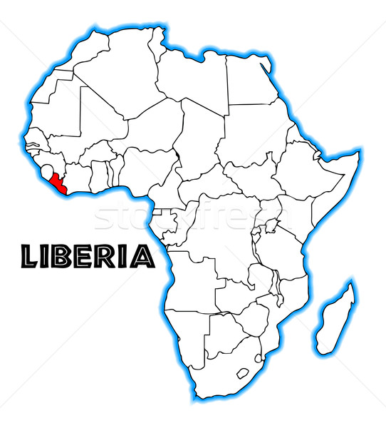 Liberia Stock photo © Bigalbaloo