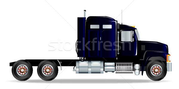 Truck Tractor Unit Stock photo © Bigalbaloo