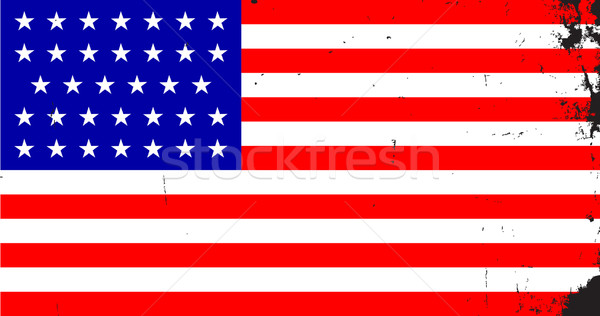 Civil War Union Flag Stock photo © Bigalbaloo