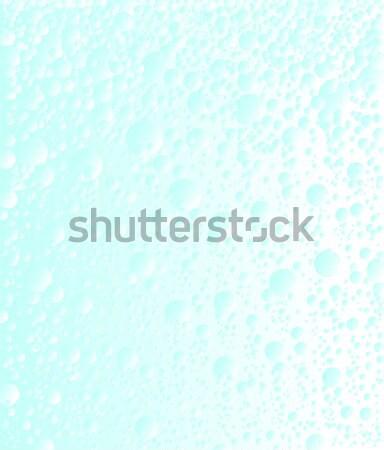 Szénsavas víz buborékok emelkedő ital fej Stock fotó © Bigalbaloo