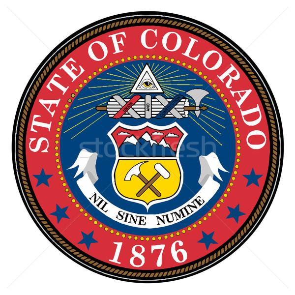 Colorado selar Estados Unidos arte desenho américa Foto stock © Bigalbaloo