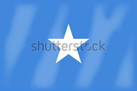 Somali banderą Afryki kraju sztuki Zdjęcia stock © Bigalbaloo