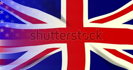 Union Jack Stars and Stripes Stock photo © Bigalbaloo
