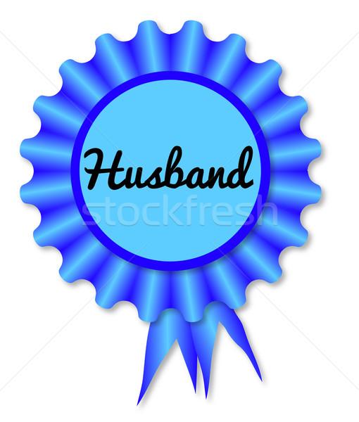 Novo marido azul lenda branco menino Foto stock © Bigalbaloo