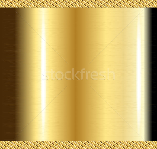 Scratched Brass Background Stock photo © Bigalbaloo
