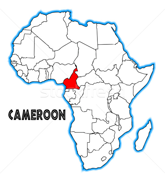 Cameroon Stock photo © Bigalbaloo