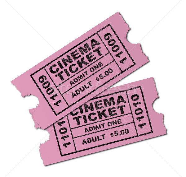 Cinema Tickets Stock photo © Bigalbaloo