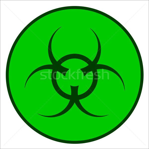 Bio Hazard Symbol Stock photo © Bigalbaloo