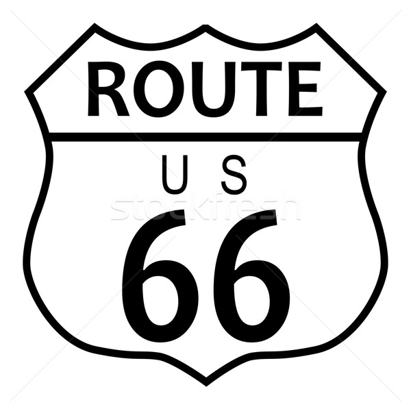 Route 66 Stock photo © Bigalbaloo