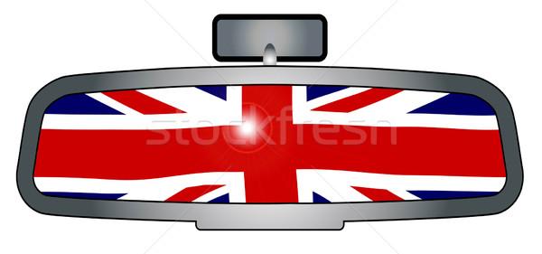 Driving Through Britain Stock photo © Bigalbaloo