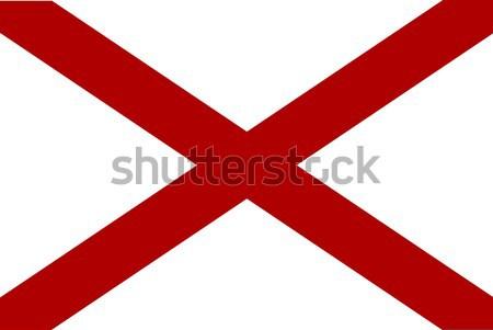 Alabama Sate Flag Stock photo © Bigalbaloo