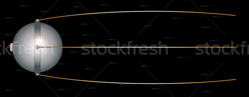 Sputnik Stock photo © Bigalbaloo