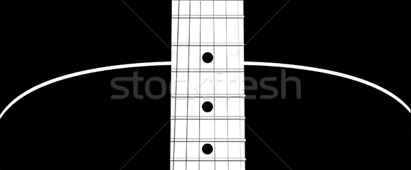 Guitar Stock photo © Bigalbaloo
