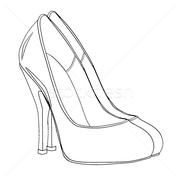 High Heel Stilettos  Stock photo © Bigalbaloo