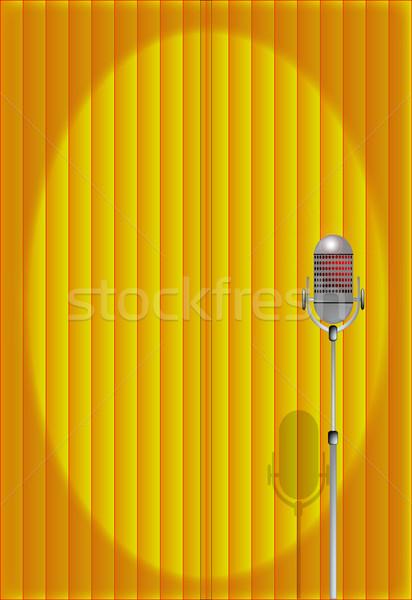 Curtain Call Stock photo © Bigalbaloo