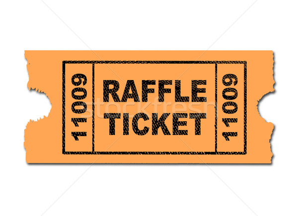 Raffle Ticket Stock photo © Bigalbaloo