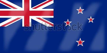 Nueva Zelandia bandera país dibujo Foto stock © Bigalbaloo