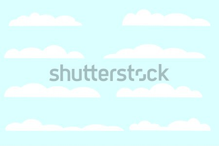 Blue Skies Background Stock photo © Bigalbaloo