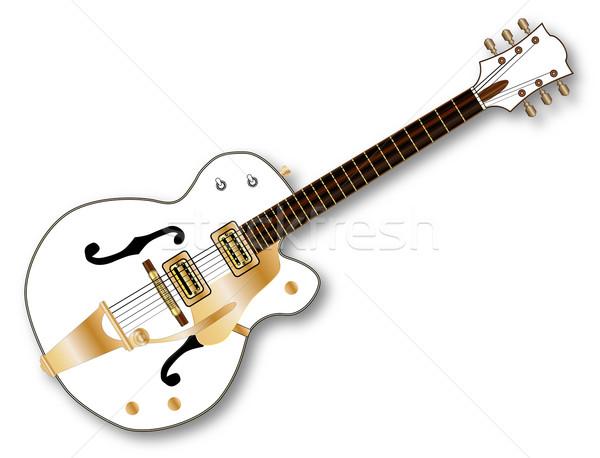 Country Pickers Guitar Stock photo © Bigalbaloo