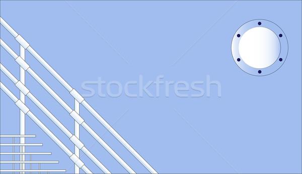 Nautical Background Stock photo © Bigalbaloo