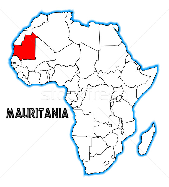 Mauritania Stock photo © Bigalbaloo