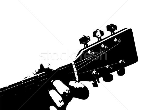 Guitarist Stock photo © Bigalbaloo