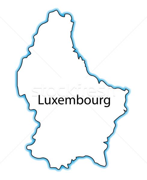 Luksemburg Pokaż biały Zdjęcia stock © Bigalbaloo