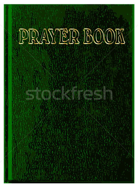Prayer Book Cover Stock photo © Bigalbaloo
