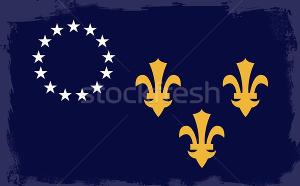 Zdjęcia stock: Miasta · banderą · tle · rysunek · Kentucky · ilustracja