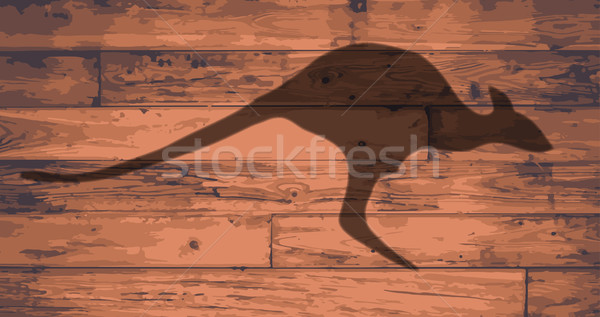Australian Kangaroo Brand Stock photo © Bigalbaloo