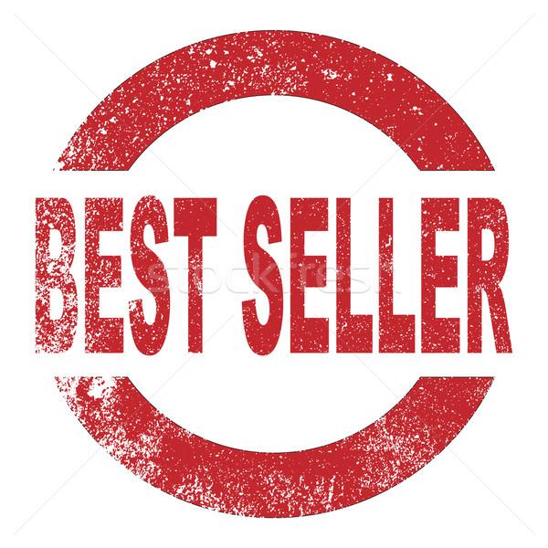 Best Seller Rubber Stamp Stock photo © Bigalbaloo
