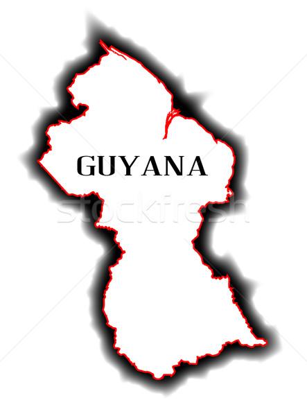 Guyana Stock photo © Bigalbaloo