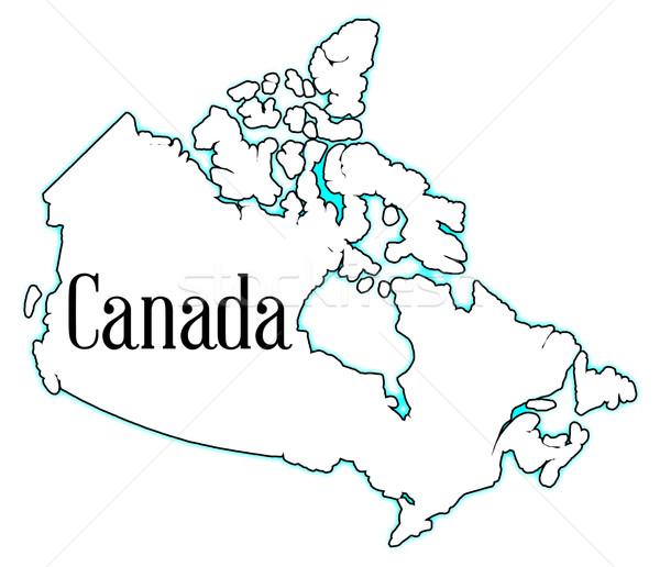 Canada Stock photo © Bigalbaloo