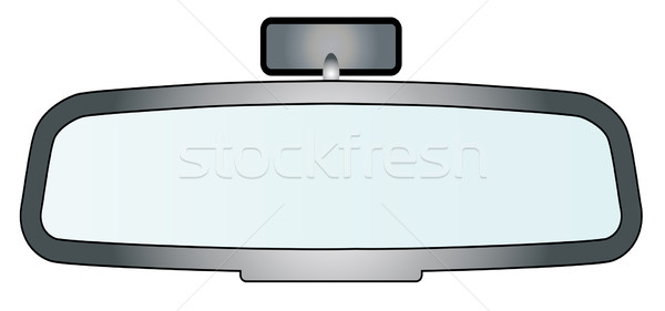 Rear View Mirror Stock photo © Bigalbaloo