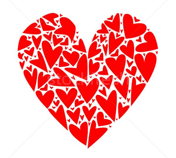Heart from Hearts Stock photo © Bigalbaloo