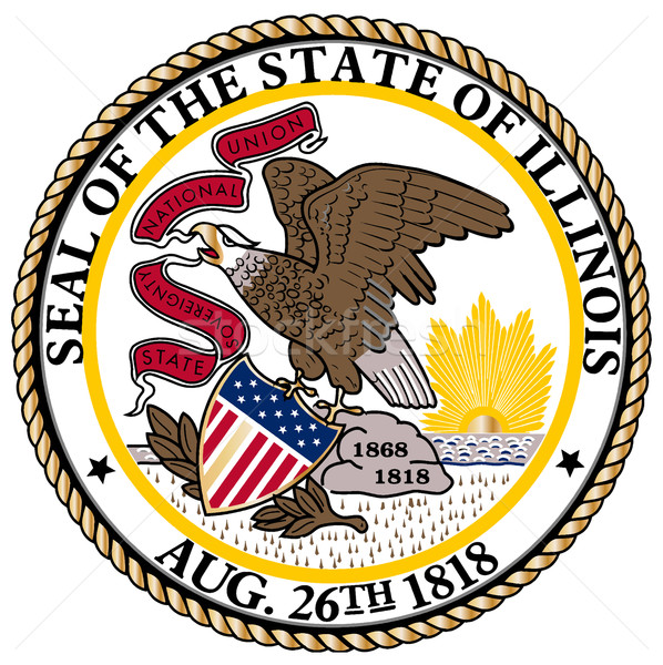Illinois State Seal Stock photo © Bigalbaloo