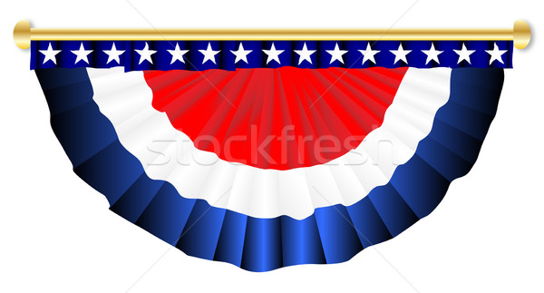 Stars And Stripes Banner Stock photo © Bigalbaloo