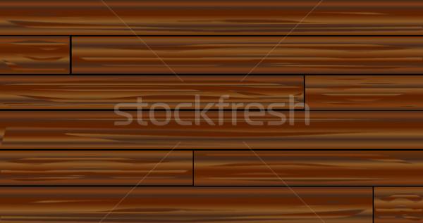 Dark Wood Boards Stock photo © Bigalbaloo
