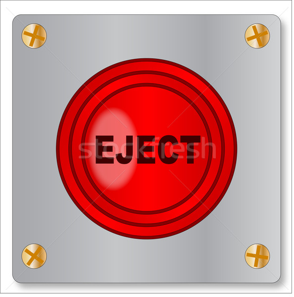 Eject Button Stock photo © Bigalbaloo
