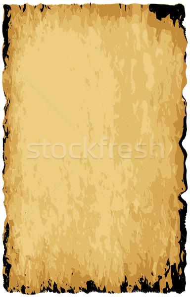Parchment Background Stock photo © Bigalbaloo