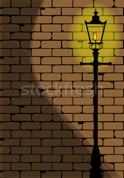 Lamplight Stock photo © Bigalbaloo
